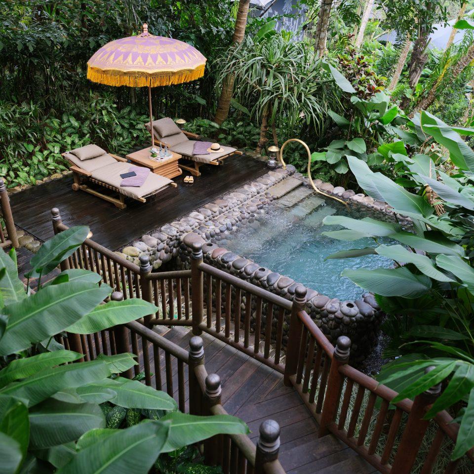 salt water private pool