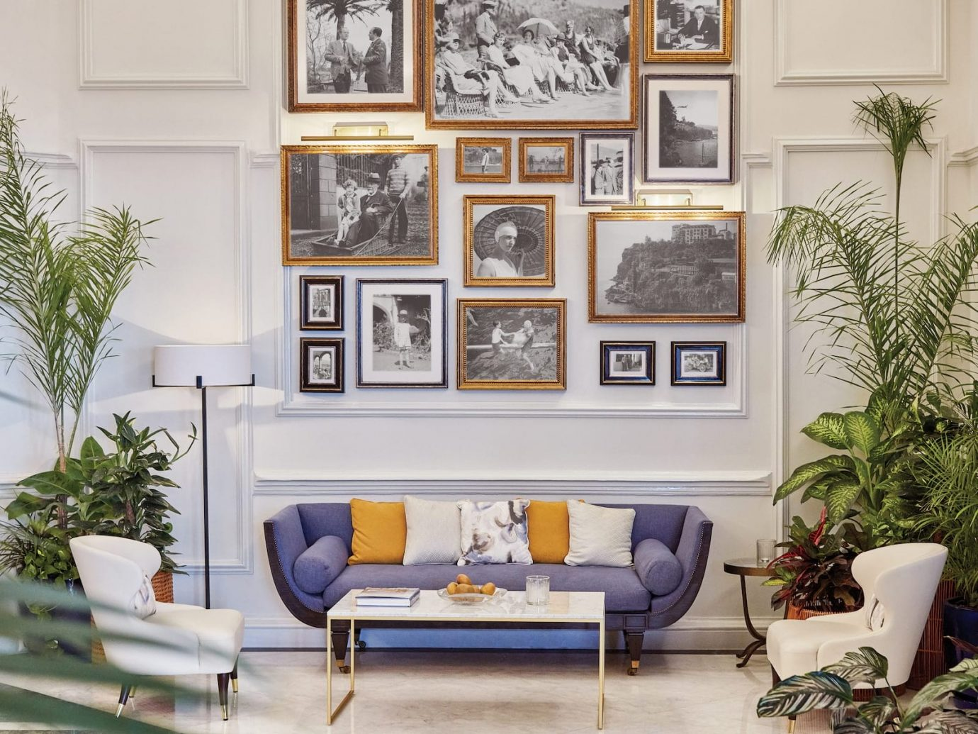 Lobby at Belmond Reid's Palace