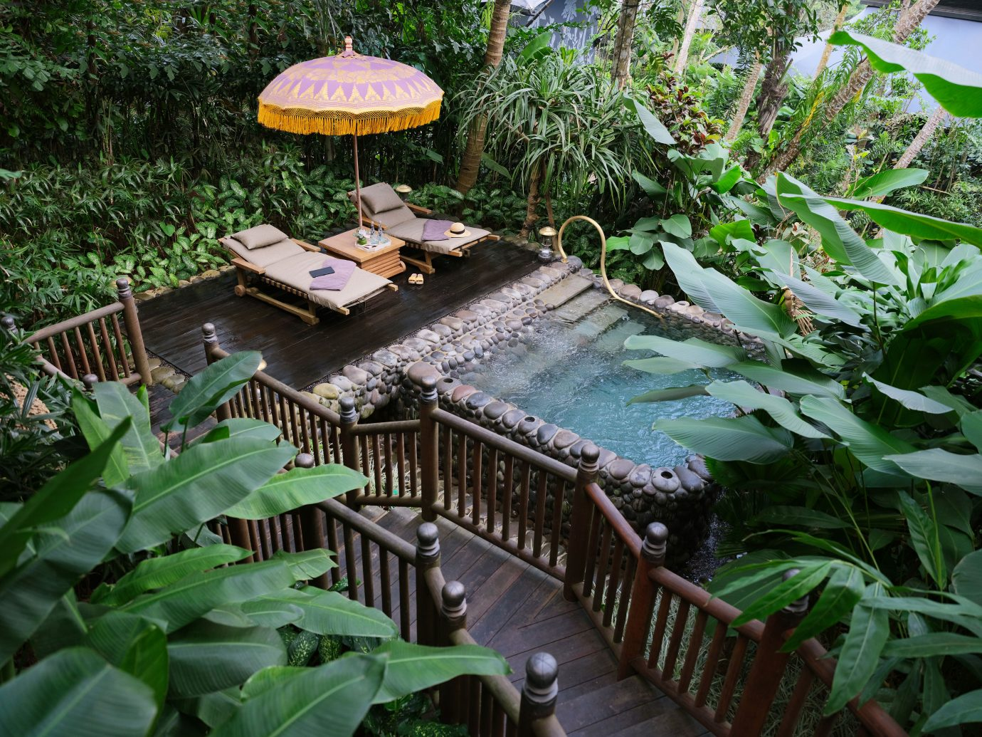 Capella Ubud pool