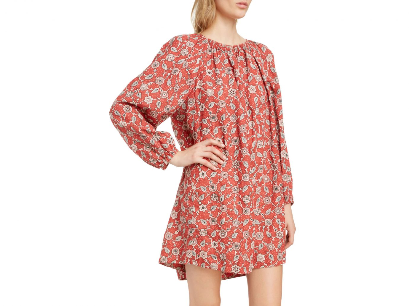 Isabel Marant Etoile Tockya Print Linen Swing Dress