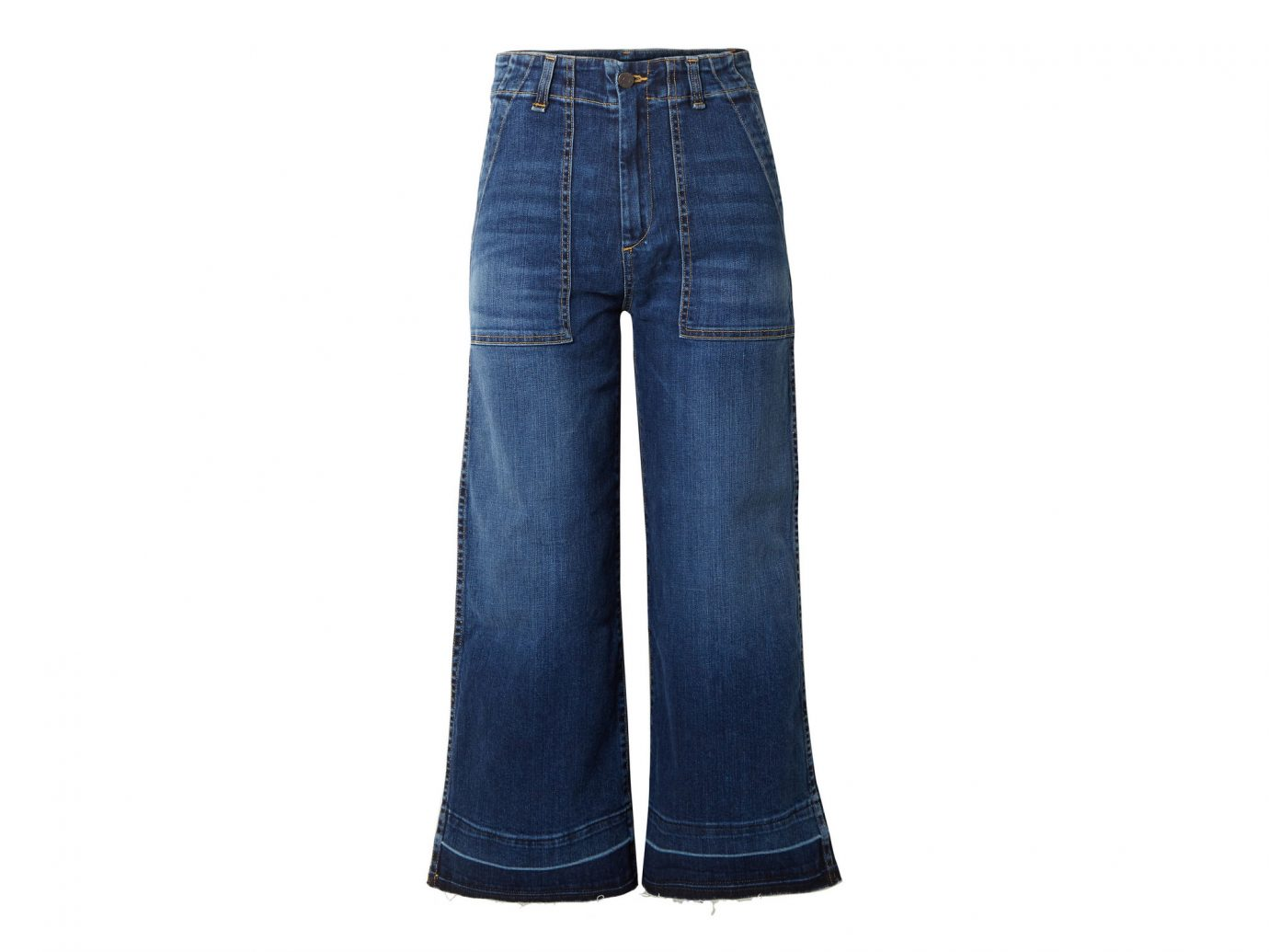 Veronica Beard Lou Cropped High-rise Wide-leg Jeans