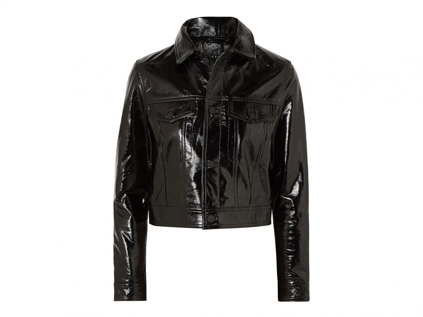 Ksubi A2B Textured Patent-leather Jacket