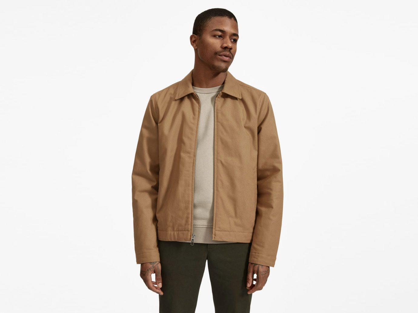 Everlane The Filled Canvas Jacket