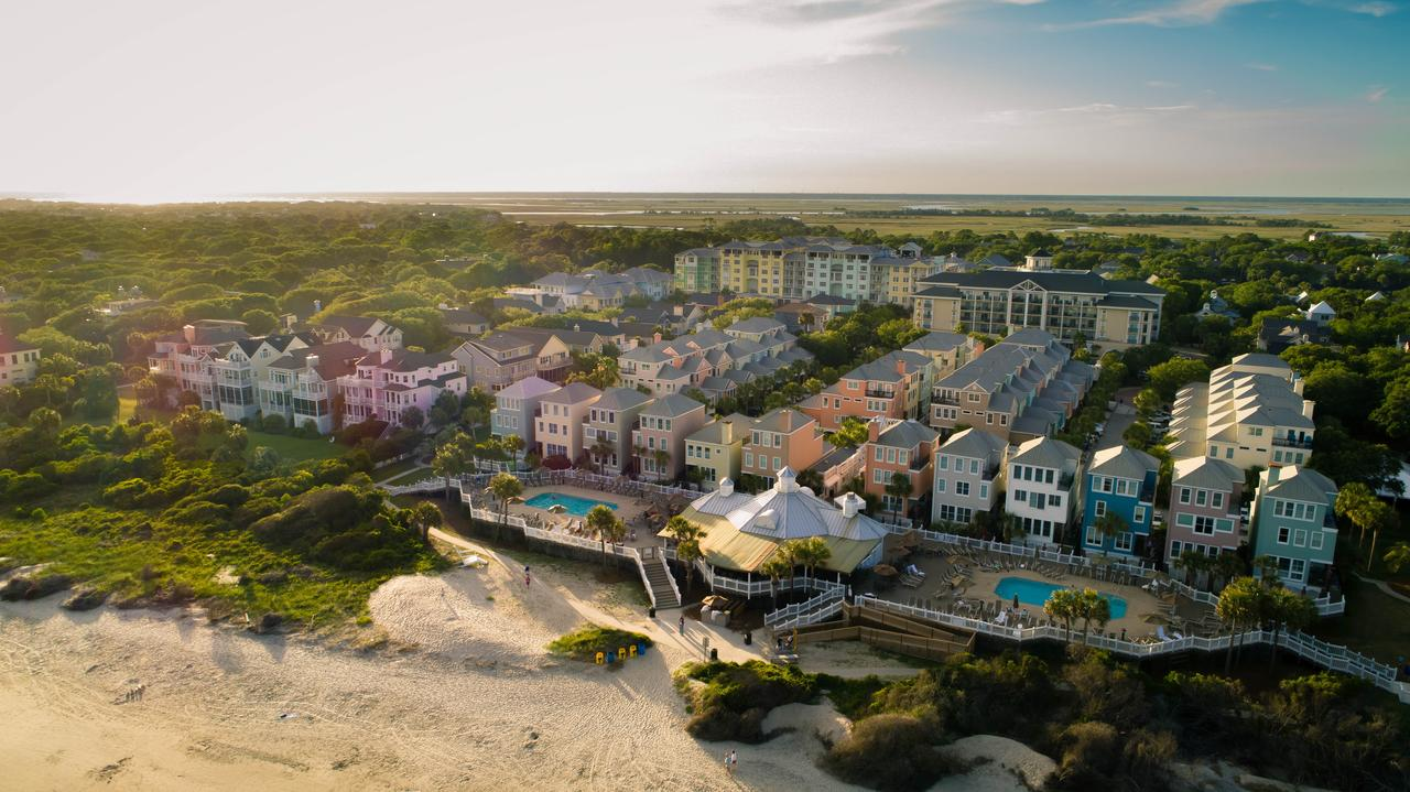 Aerial view of Wild Dunes Resort