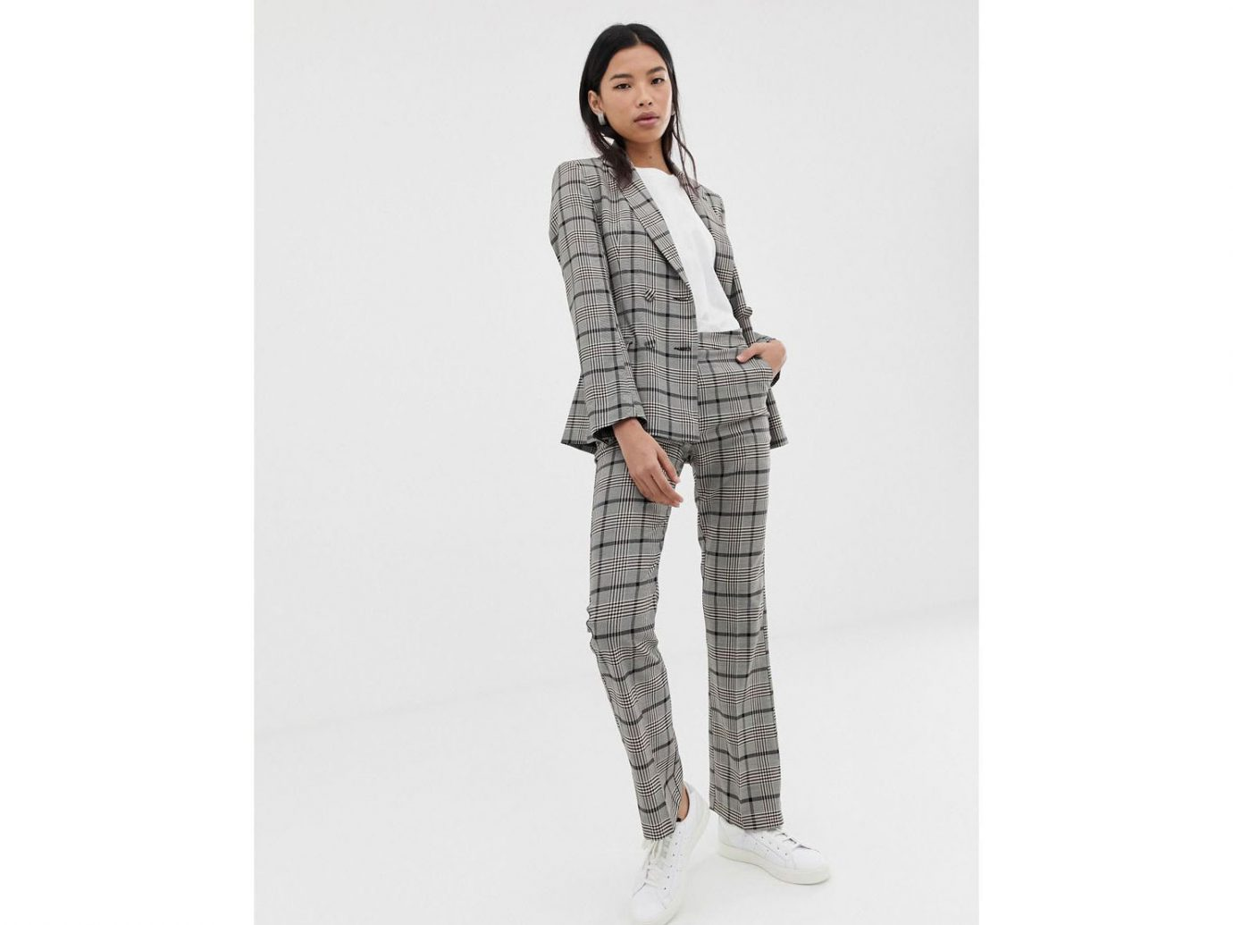 Asos Design Suit in Check