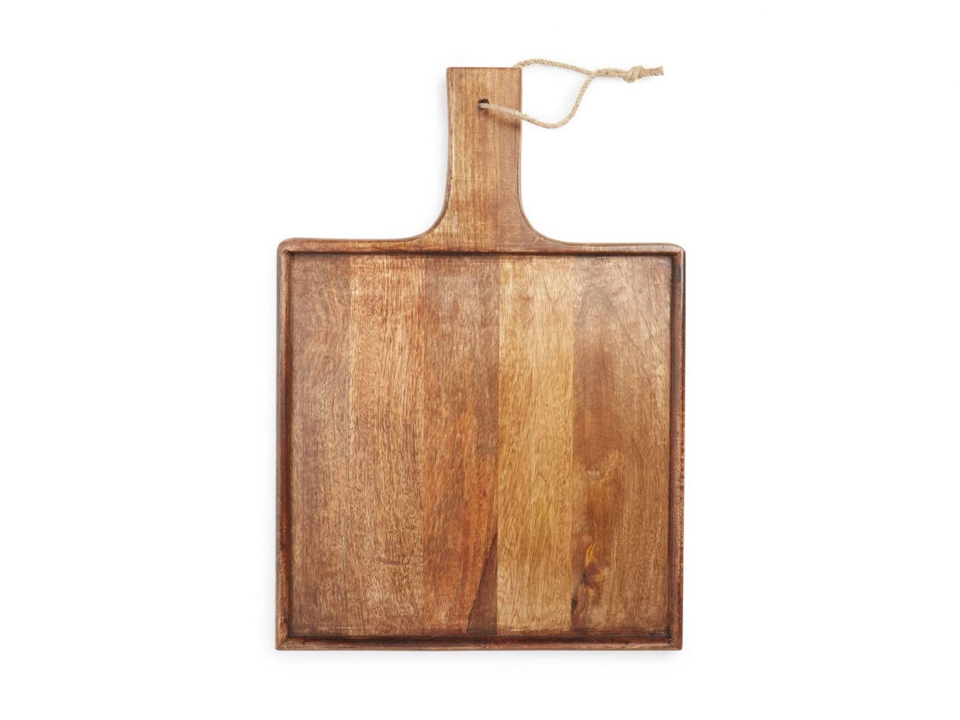 Treasure & Bond Square Mango Wood Serving Board