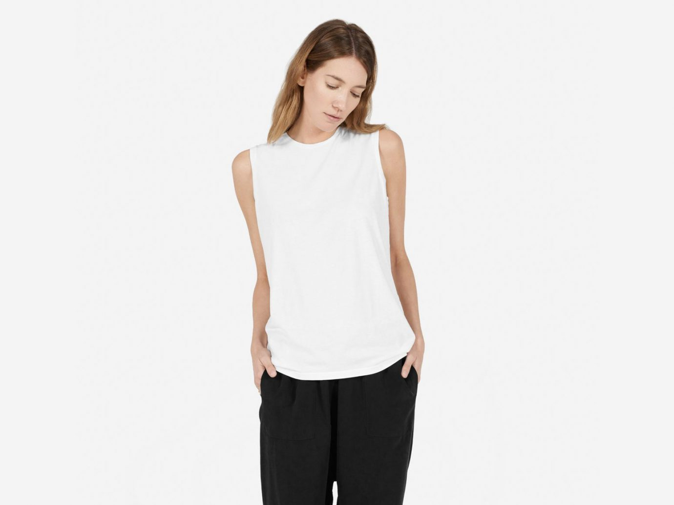 Everlane The Cotton Muscle Tank