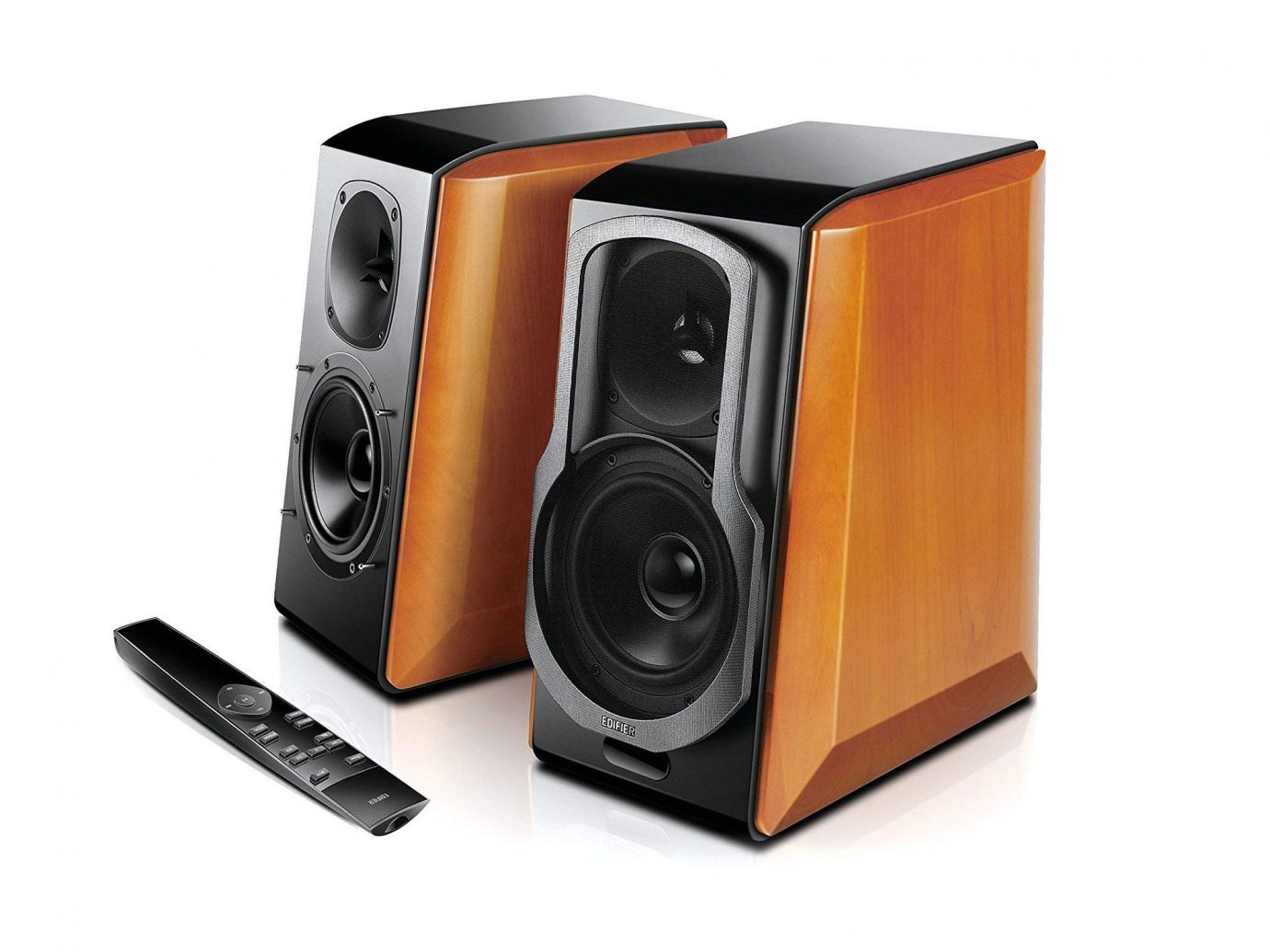 Edifier S2000pro Powered Bluetooth Bookshelf Speakers on Amazon
