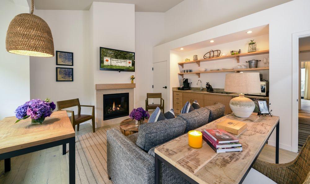 Living room at Carmel Valley Ranch