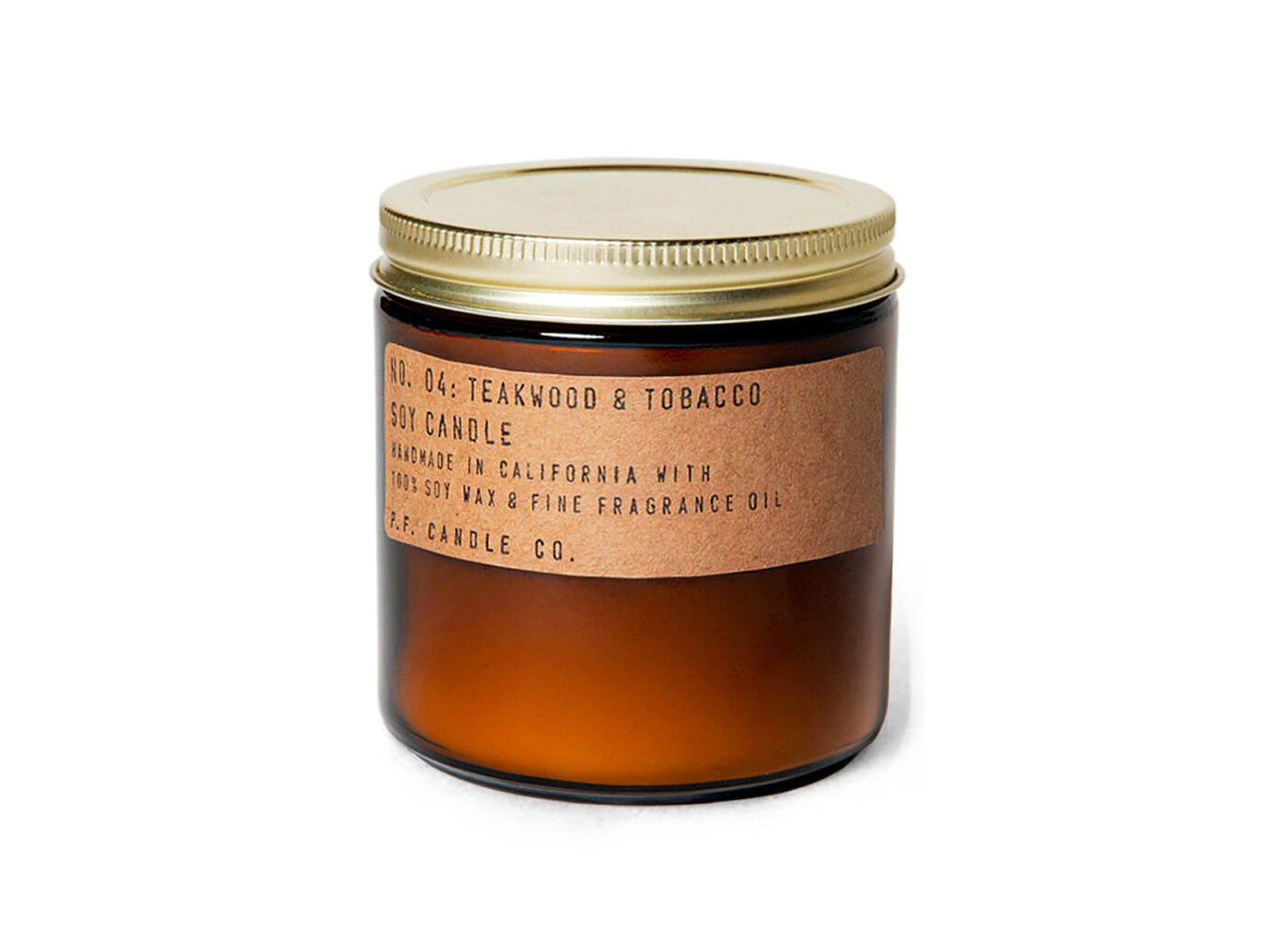 P.F. Candle Co Teakwood & Tobacco-scented Candle