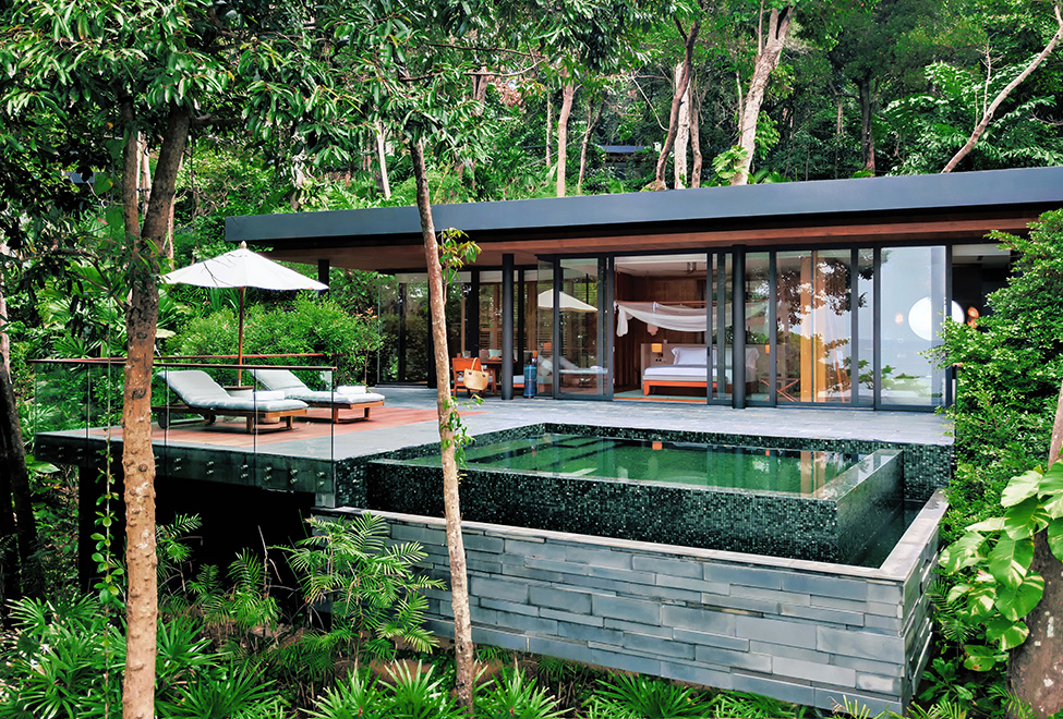 Exterior of Six Senses Krabey