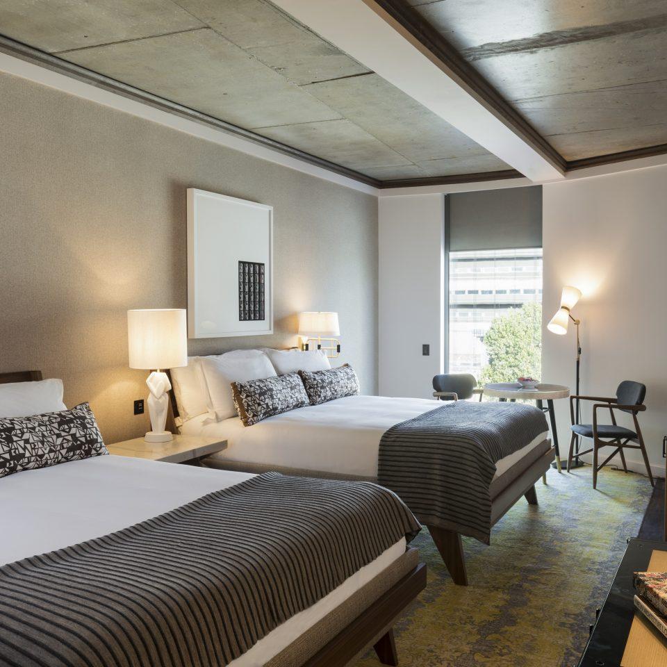double queen room at Bankside Hotel