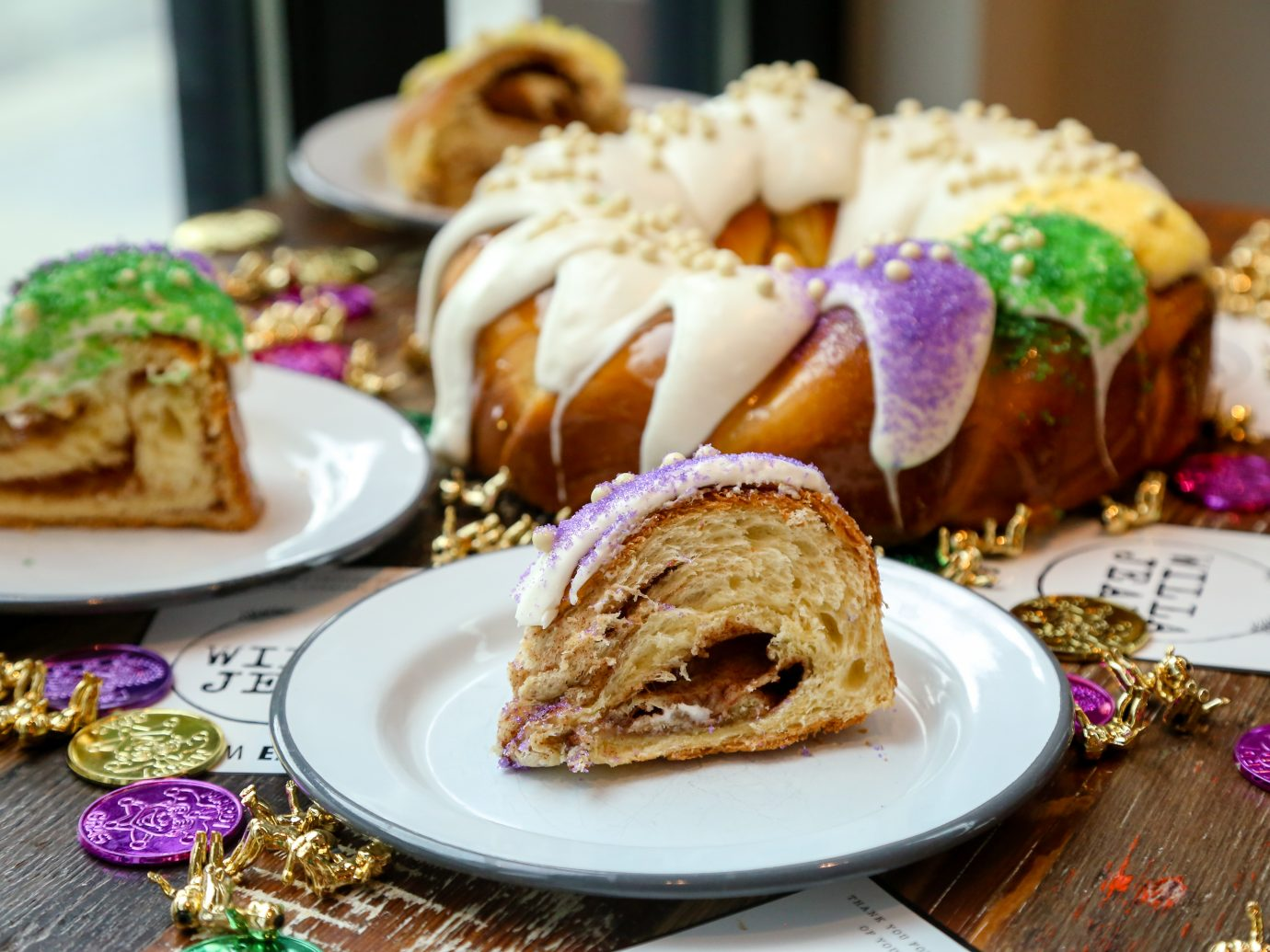 Kings Cake at Willa Jean New Orleans