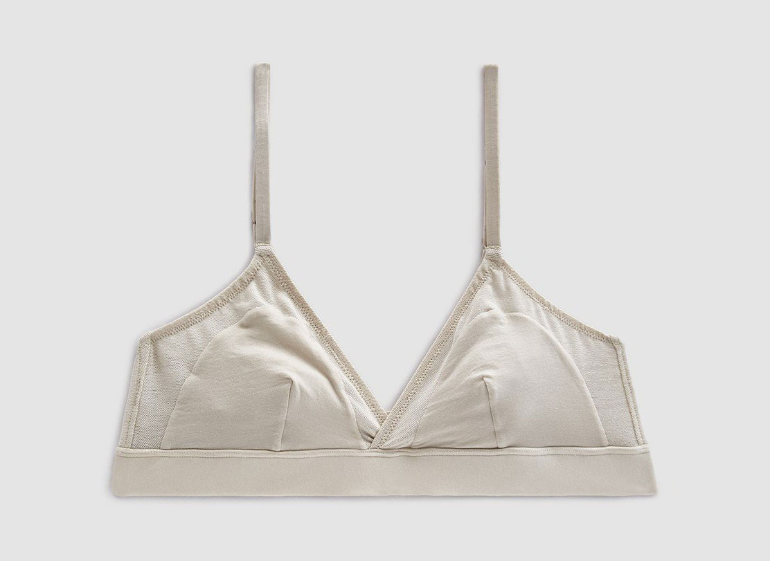 The Great Eros Fresco Bralette in Plaster
