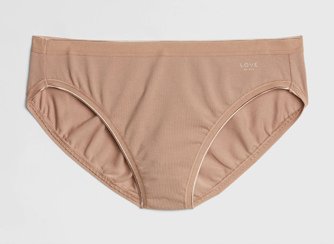 Gap Stretch Cotton High Leg Brief