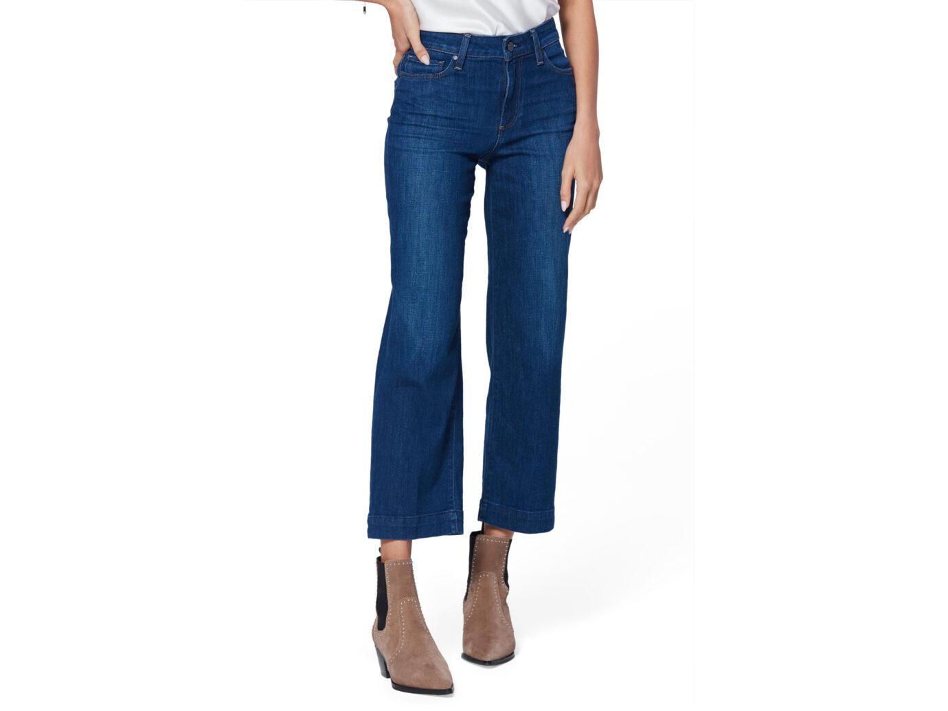 Paige Nellie High Waist Culotte Jeans