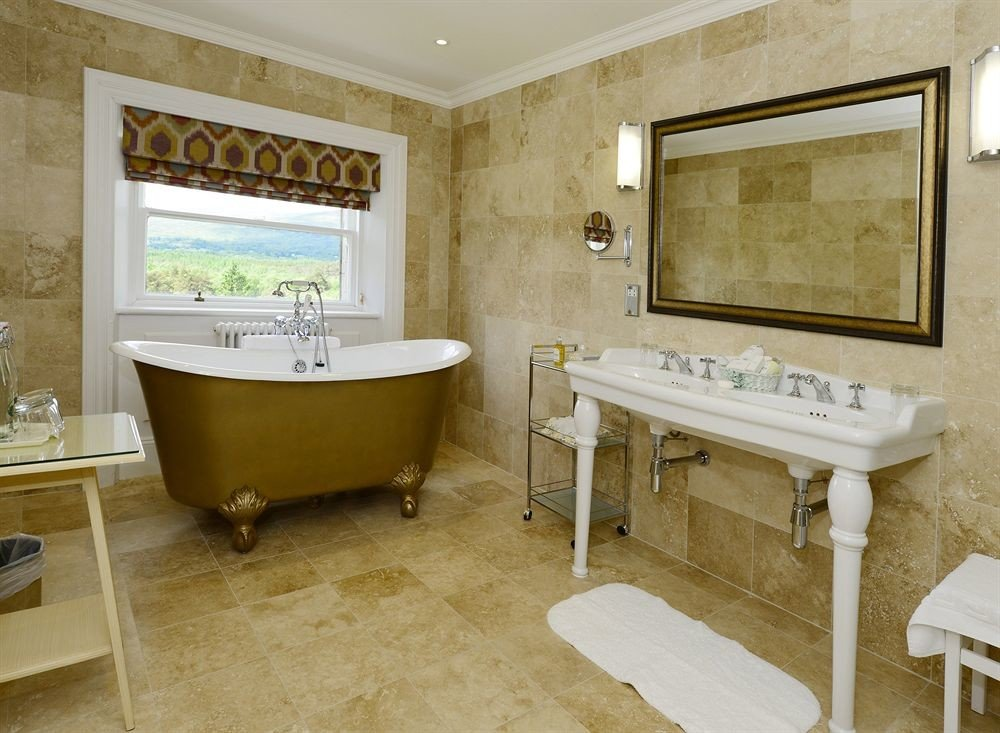 Bathroom at Inverlochy Castle