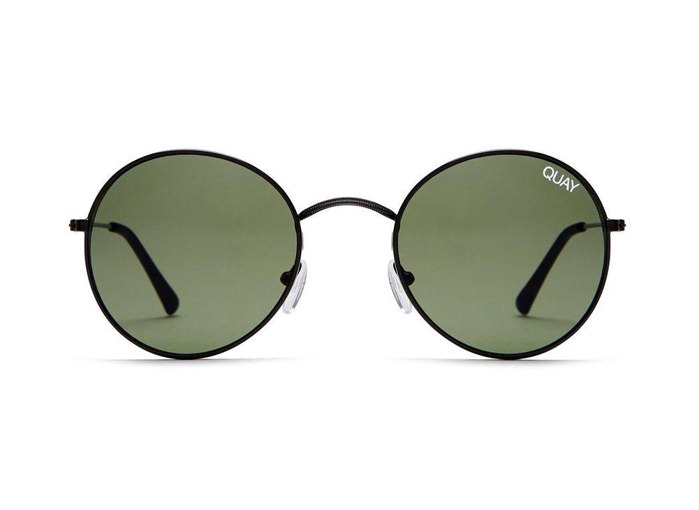 Quay Mod Star Round Sunglasses