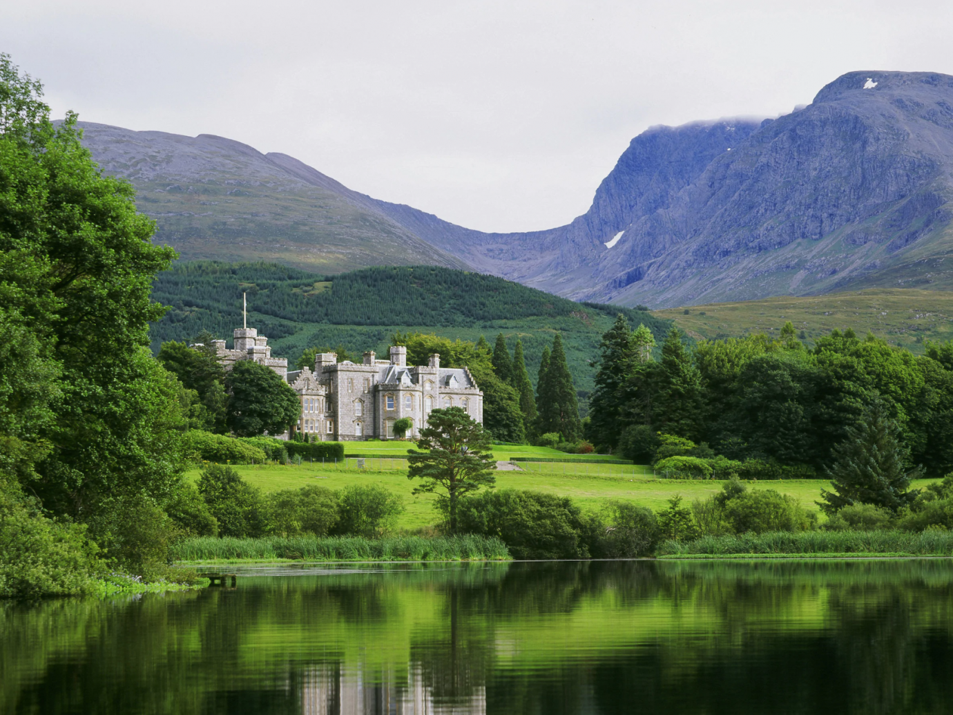 View of Inverlochy Castle
