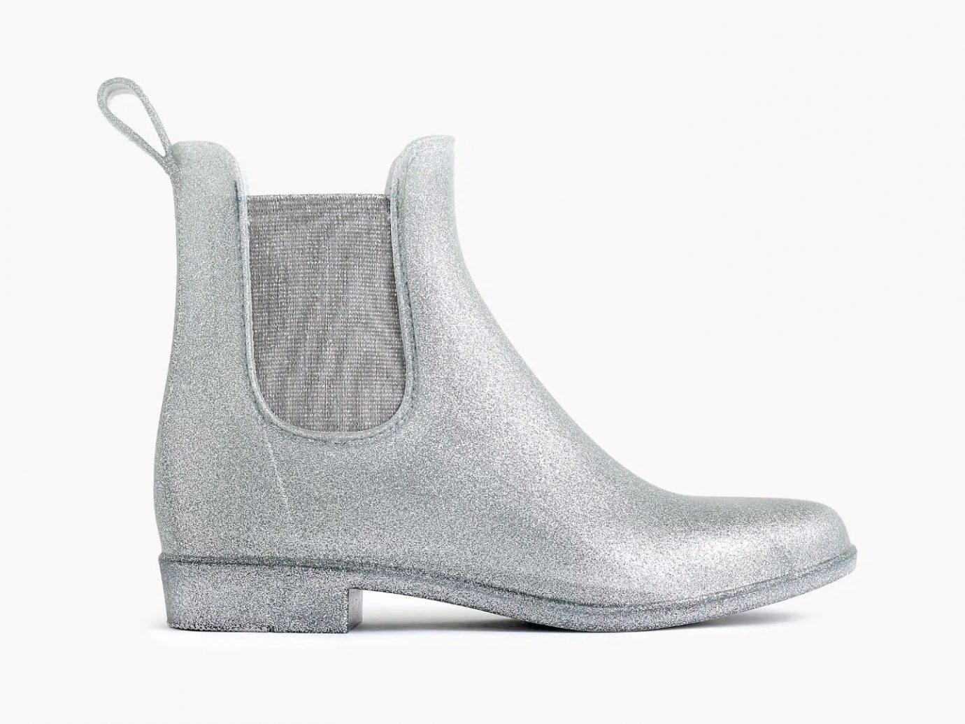 J.Crew Glitter Chelsea Rain Boots