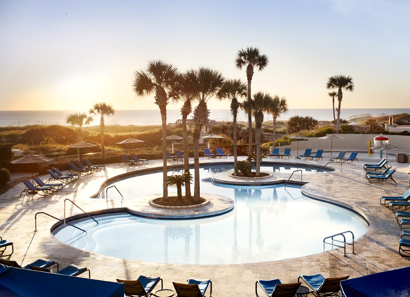 Swimming Pool at Ritz-Carlton, Amelia Island