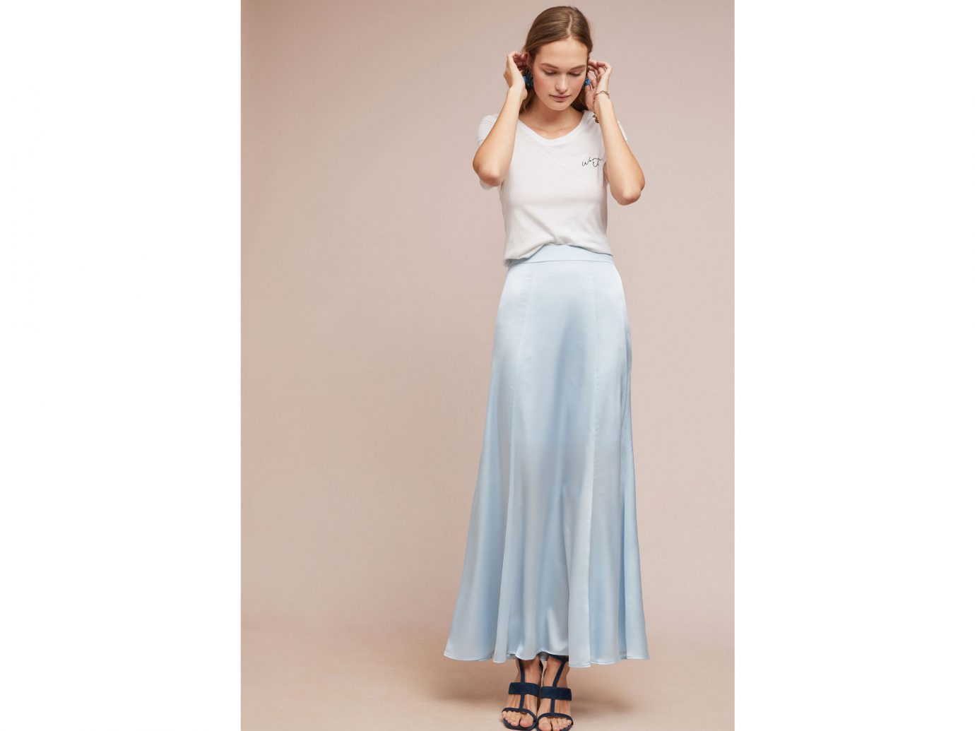 Grace Satin Skirt