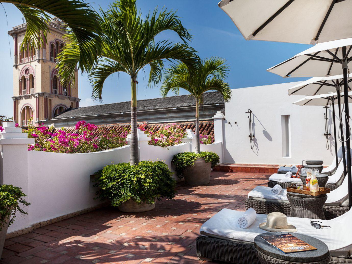 Courtyard at Hotel Casa San Agustin