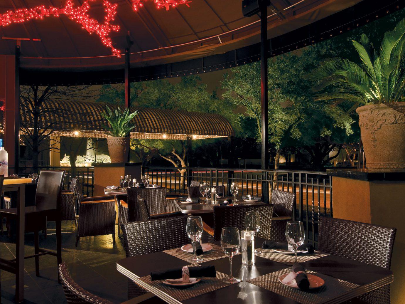 patio at Hotel ZaZa in Houston