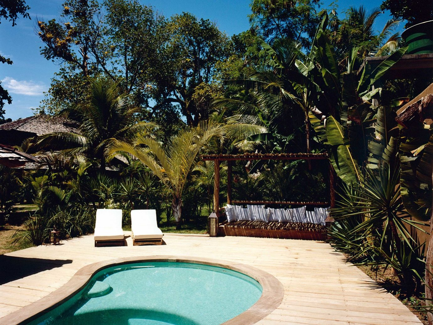 Pool at Uxua Casa Hotel & Spa