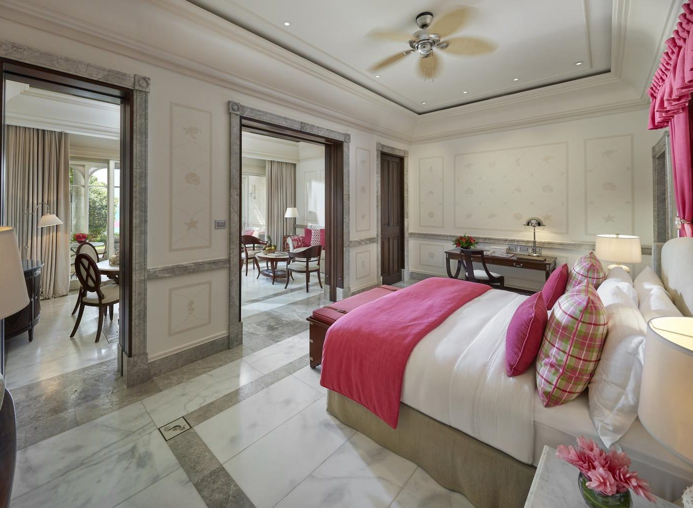 Bedroom of Mandarin Oriental Canouan