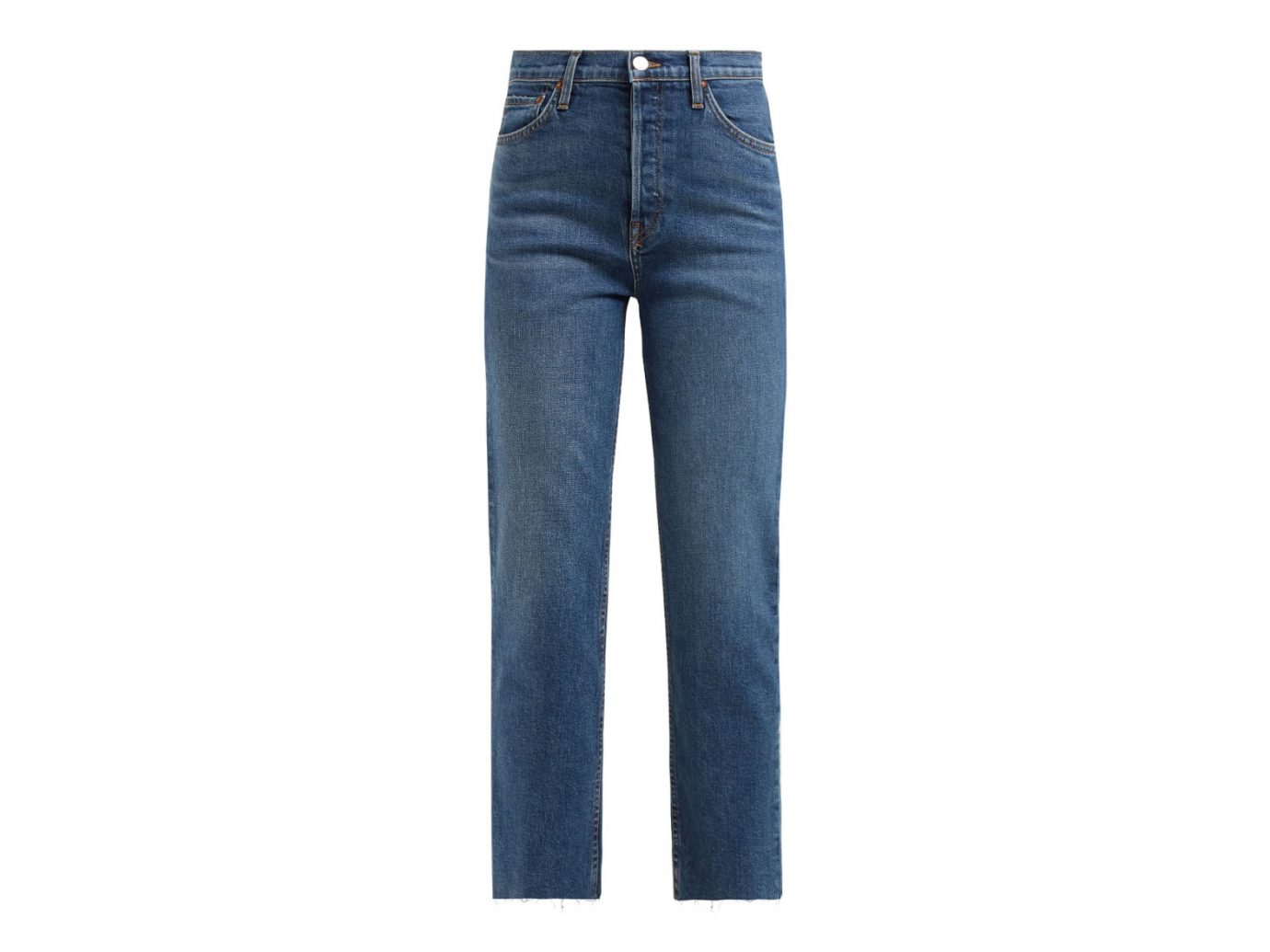 RE/DONE ORIGINALS Stovepipe high-rise straight-leg jeans