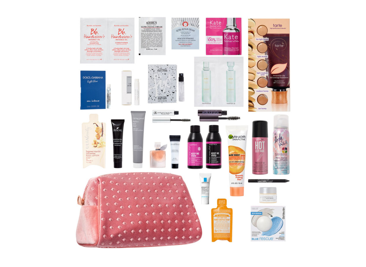 Ulta Free 26-Piece Beauty Bag