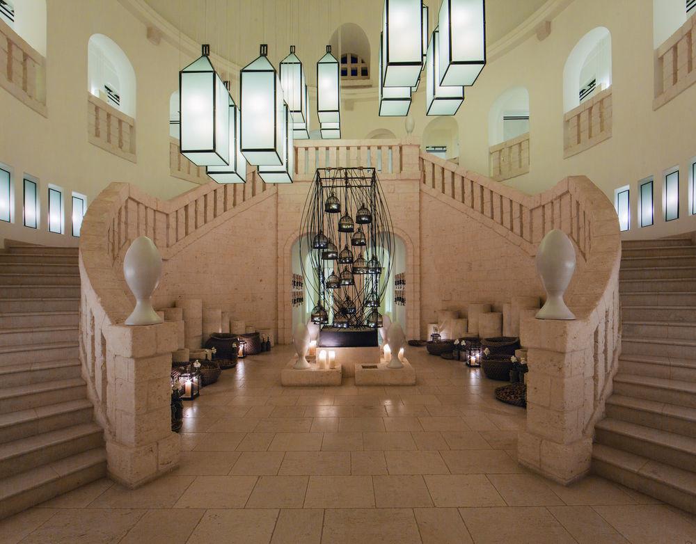 Lobby at Borgo Egnazia