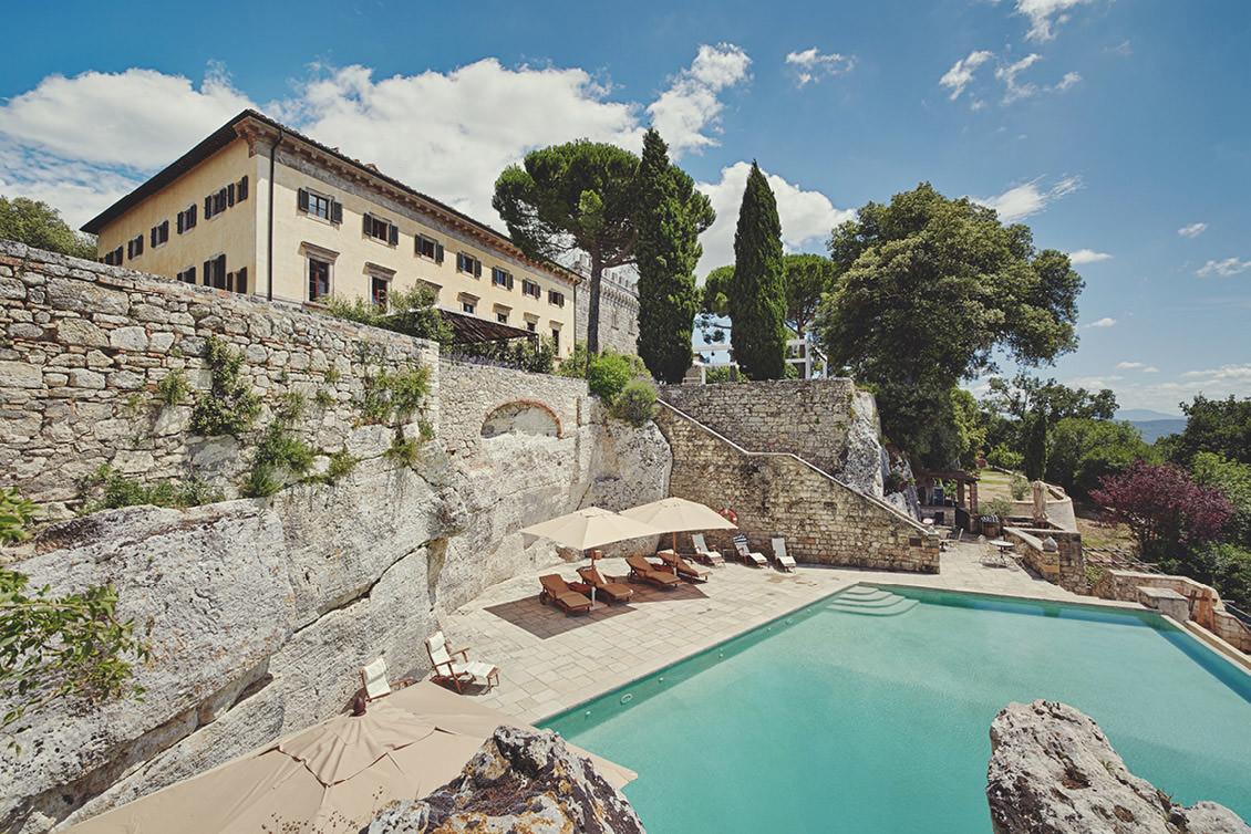 Pool at Borgo Pignano