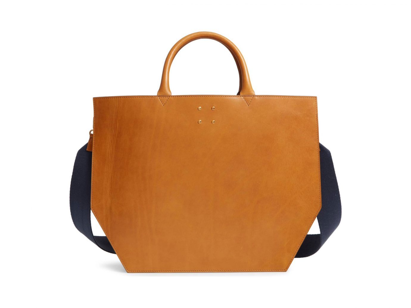 TRADEMARK Collapsing Leather Tote