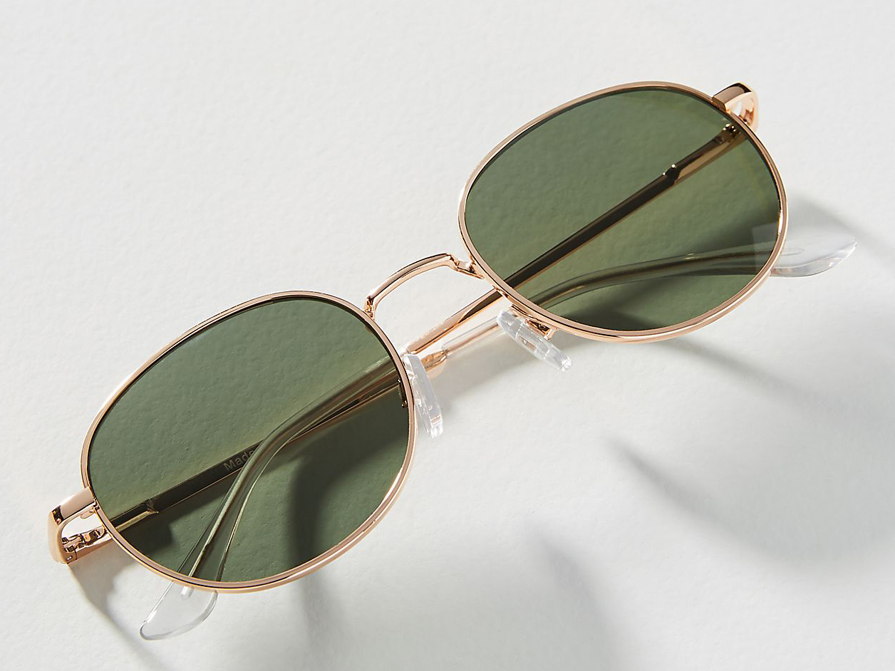 Anthropologie Kate Rounded Sunglasses