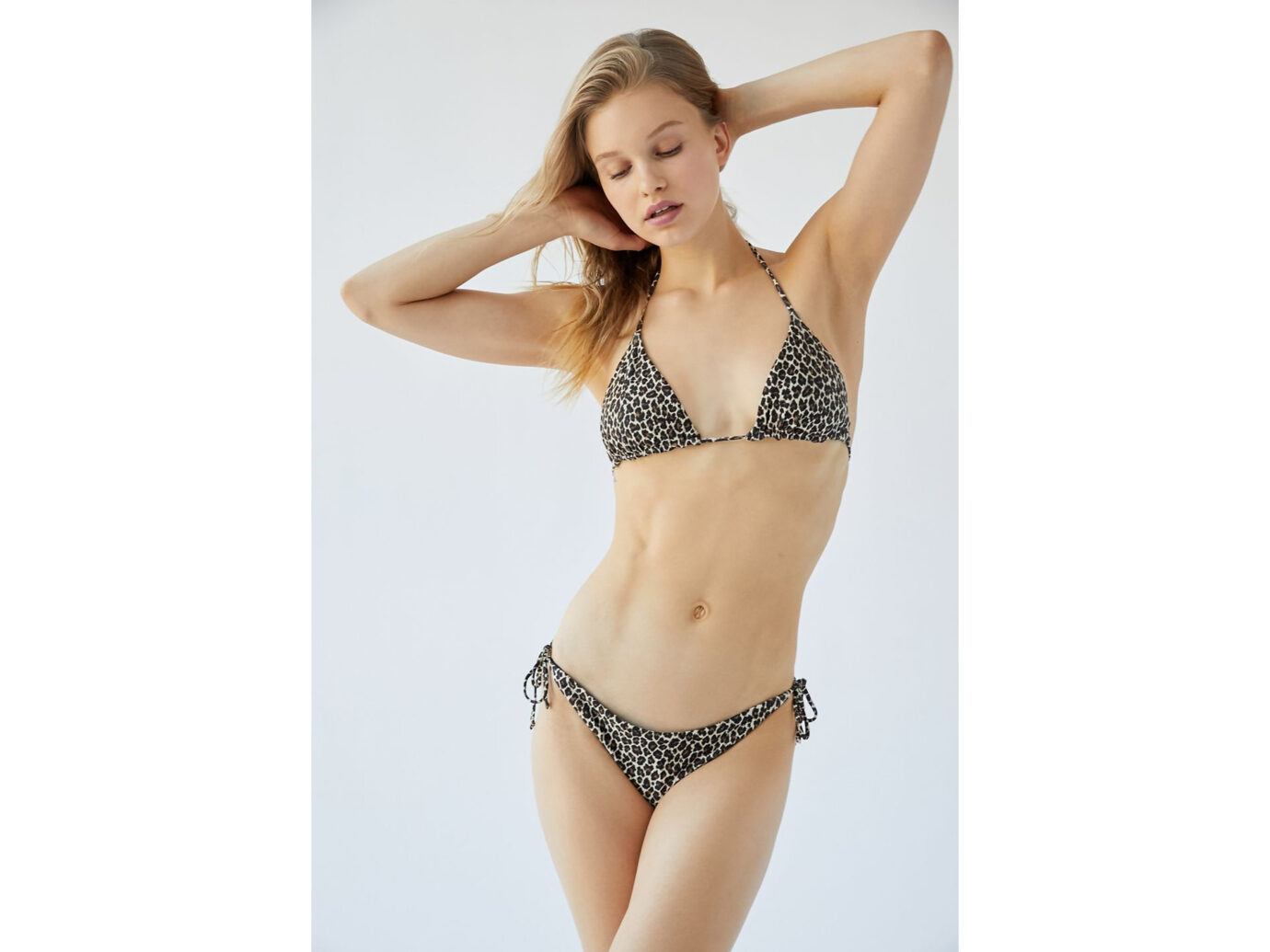 Out From Under Animal Party Triangle Bikini