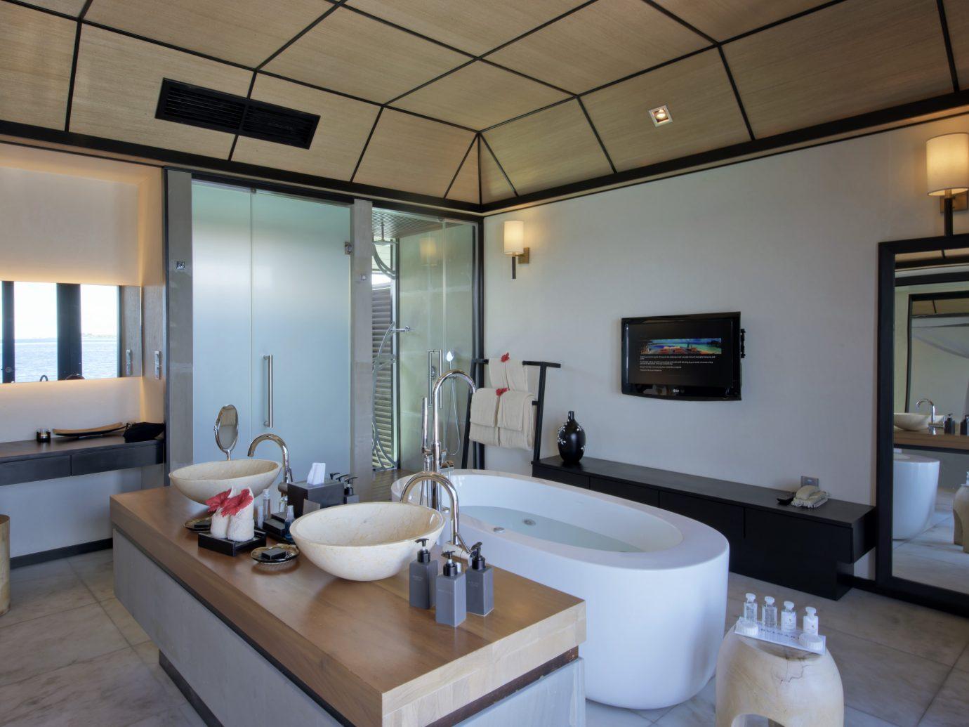 Bathroom at Lily Beach, Maldives