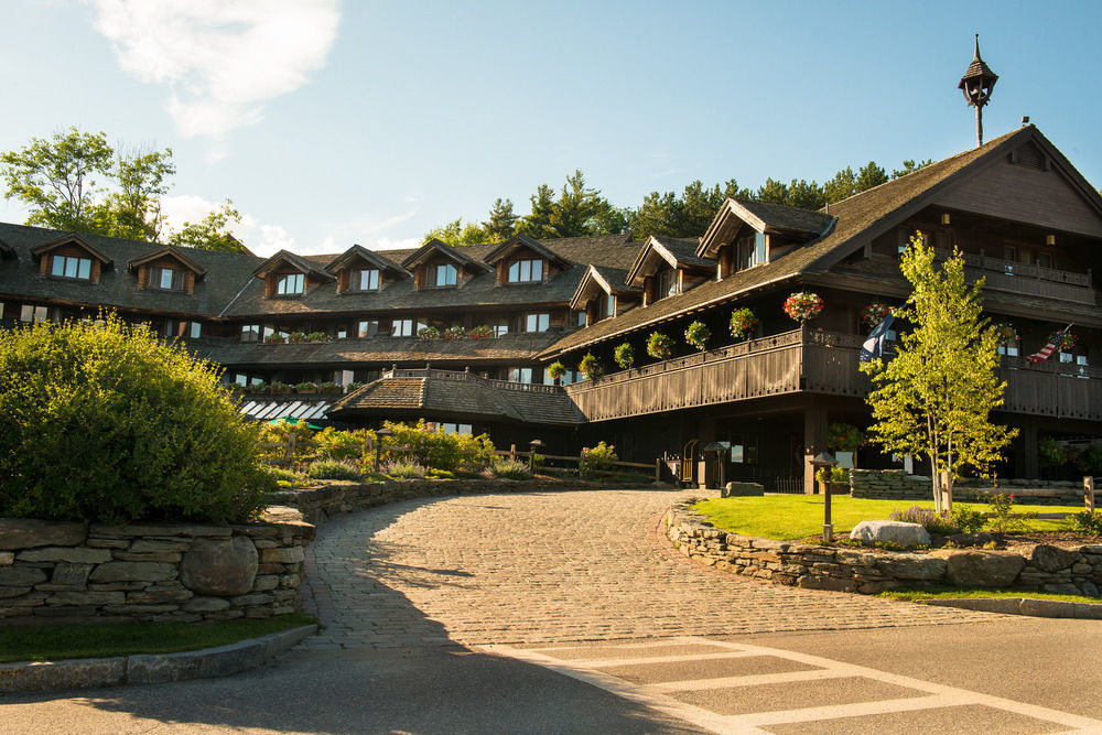 Exterior view of Trapp Family Lodge, Stowe, Vermont