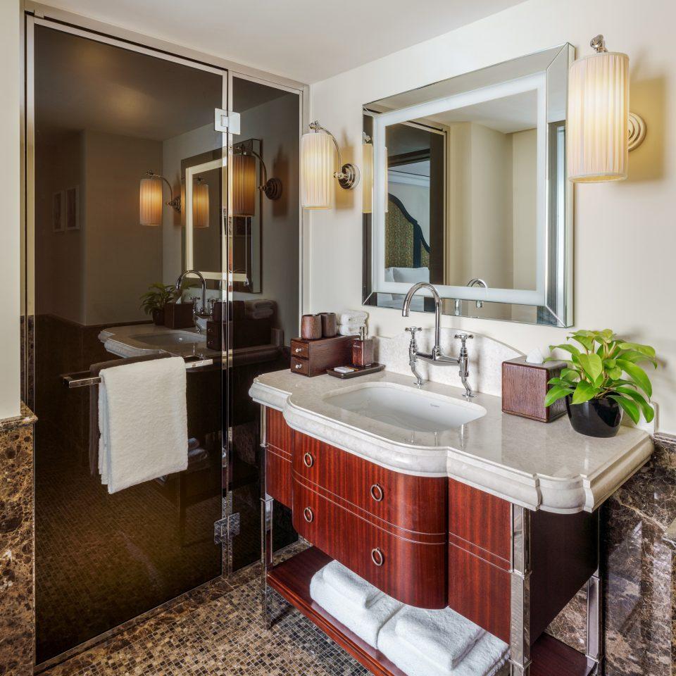 fancy bathroom interior