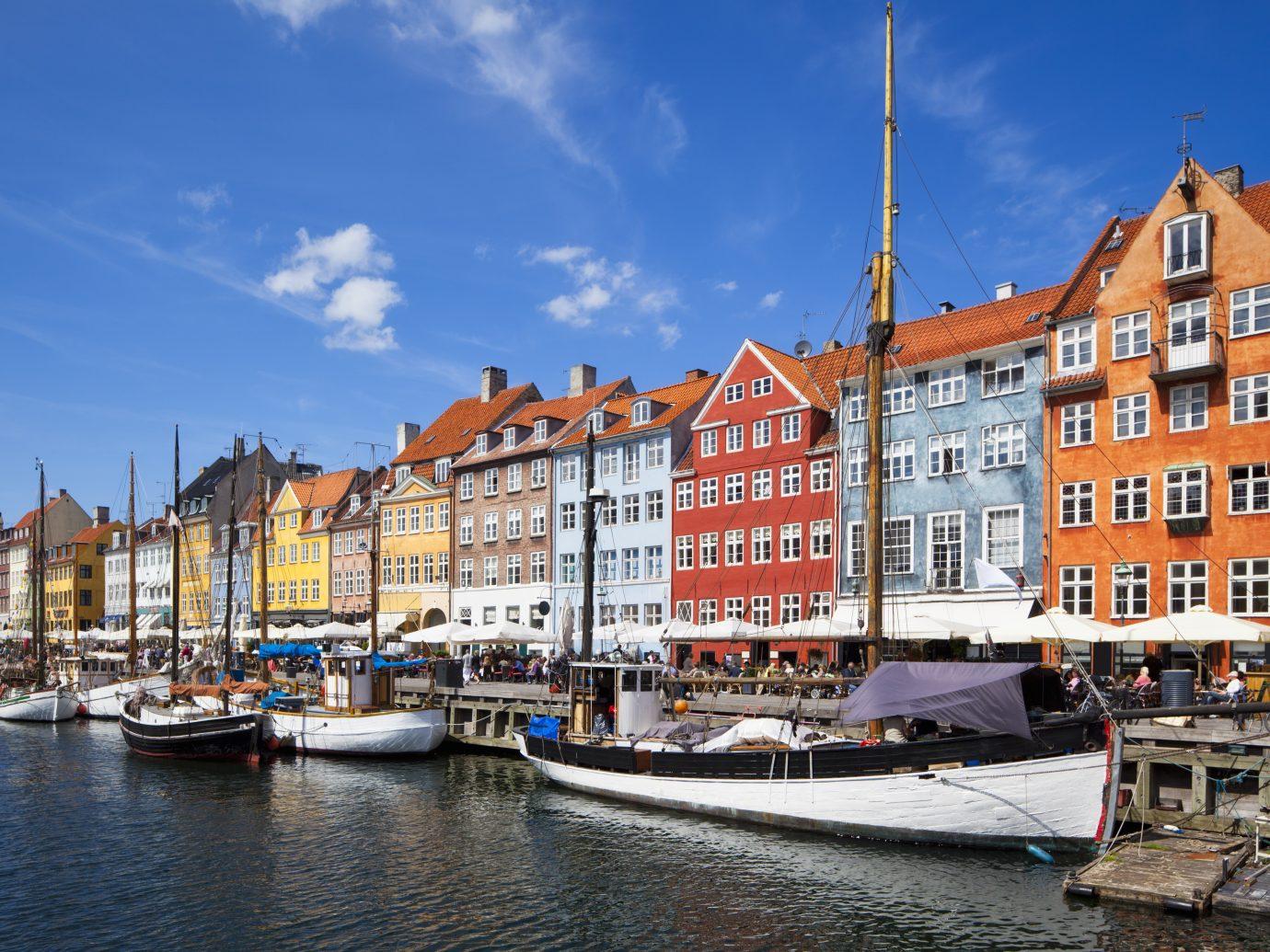 Nyhavn street in Denmark
