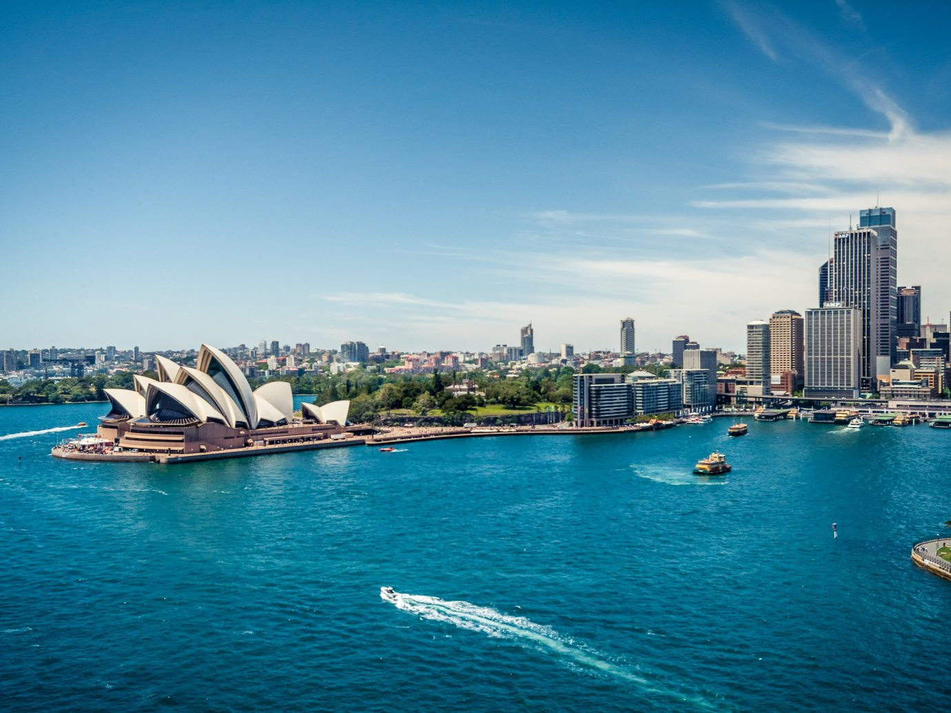 Sydney Opera House and Circular quay
