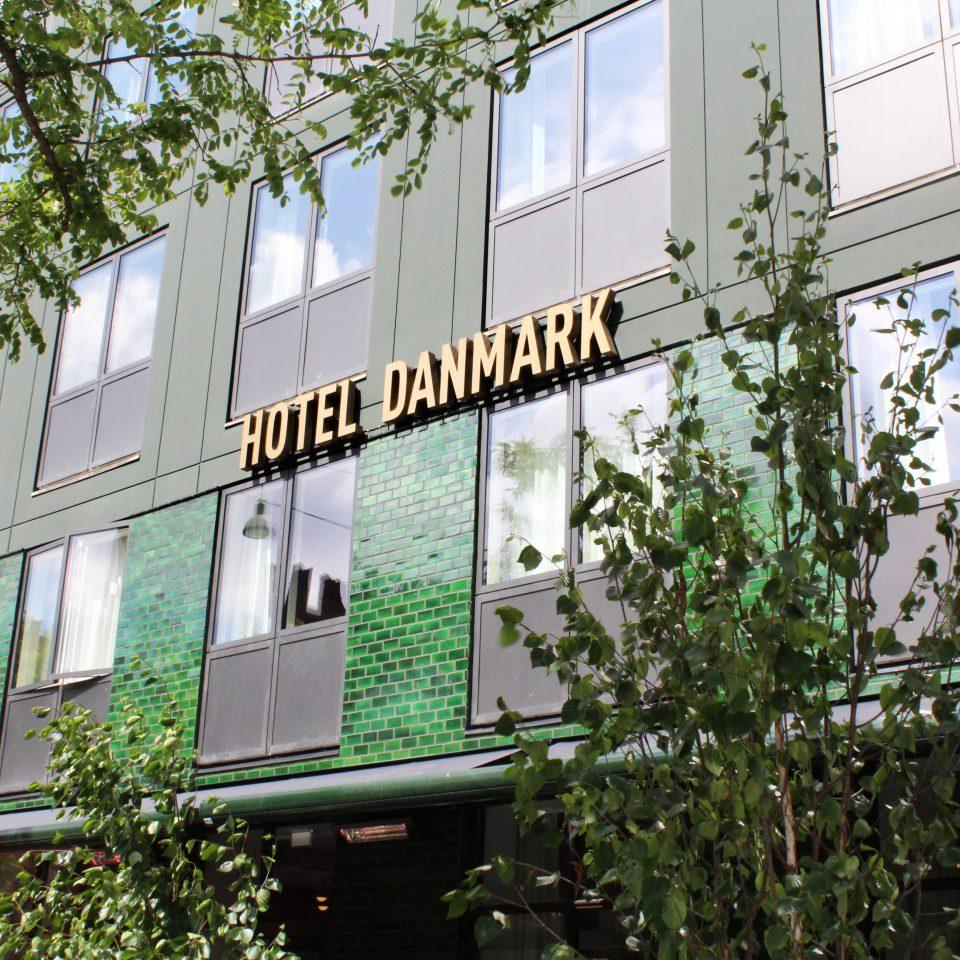 Hotel Danmark exterior in Copenhagen
