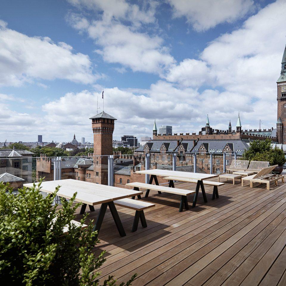 rooftop at Hotel Danmark