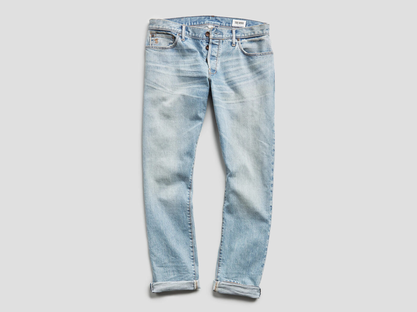Todd Snyder Slim Fit Japanese Selvage Jeans