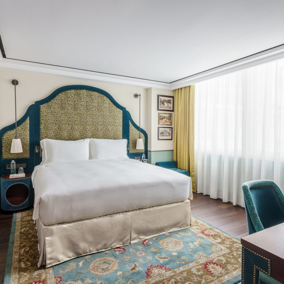 royal looking bed interior