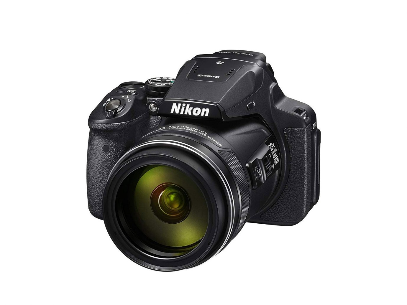 Nikon COOLPIX P900 Digital Camera with 83x Optical Zoom and Built-In Wi-Fi(