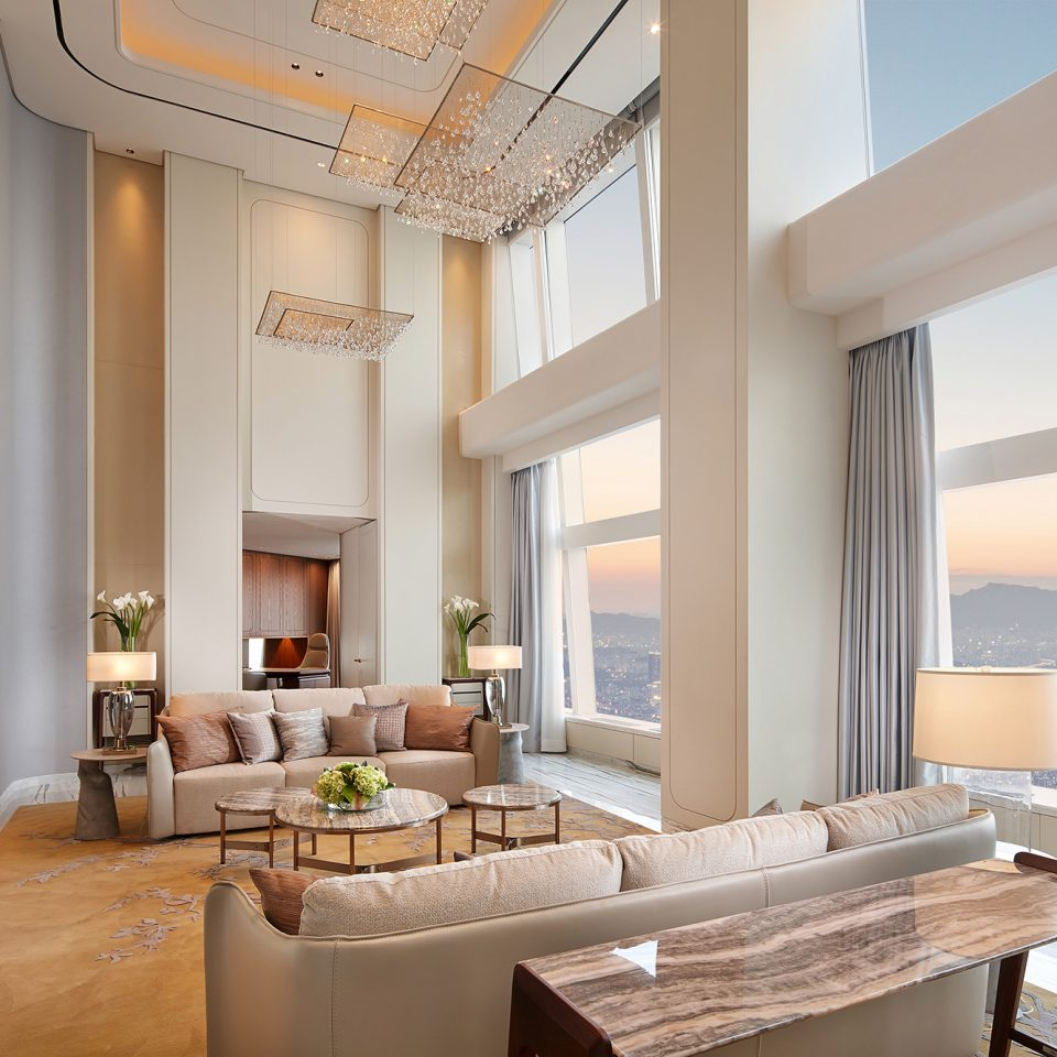 royal suite interior living room
