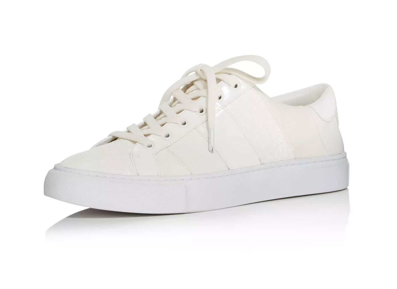 Tory Burch Women's Ames Leather & Suede Sneakers