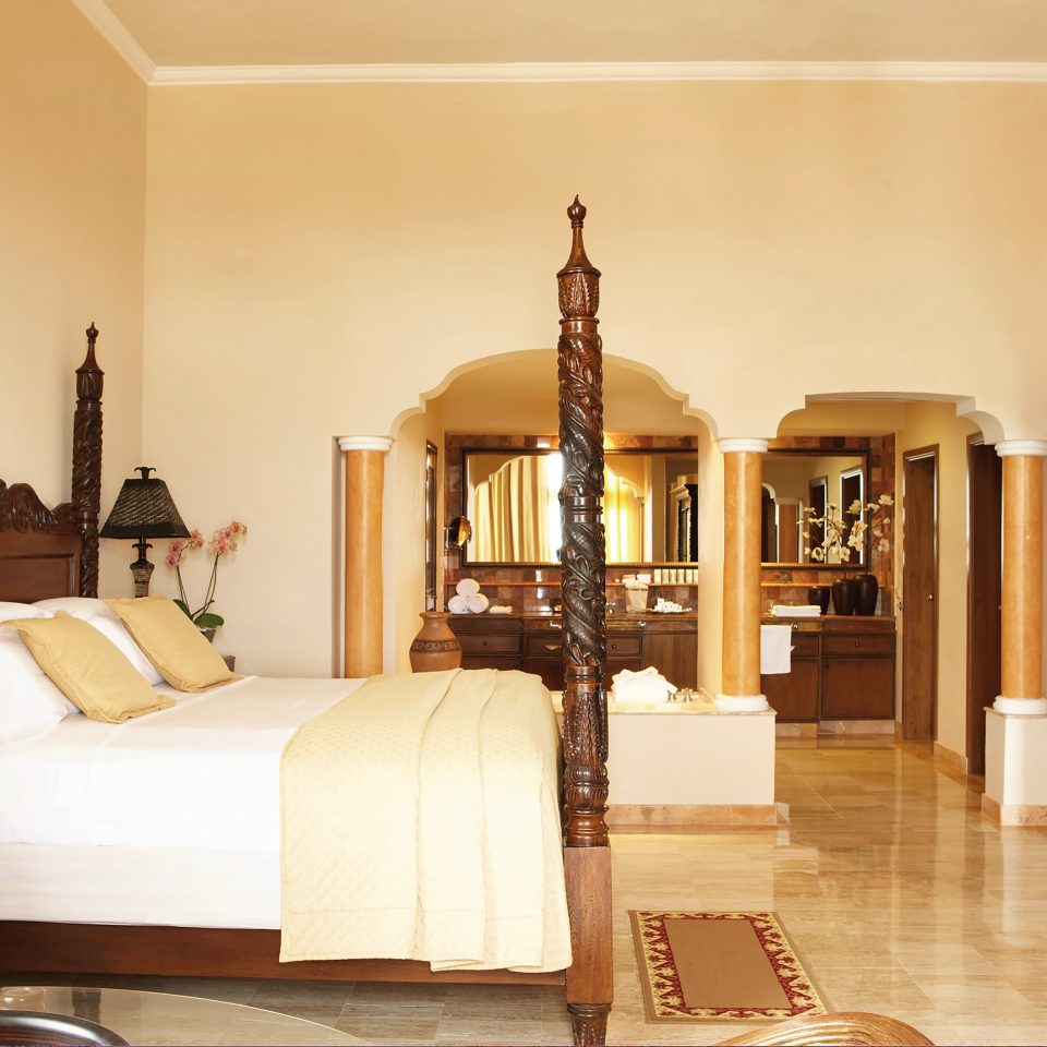suite interior with large bed